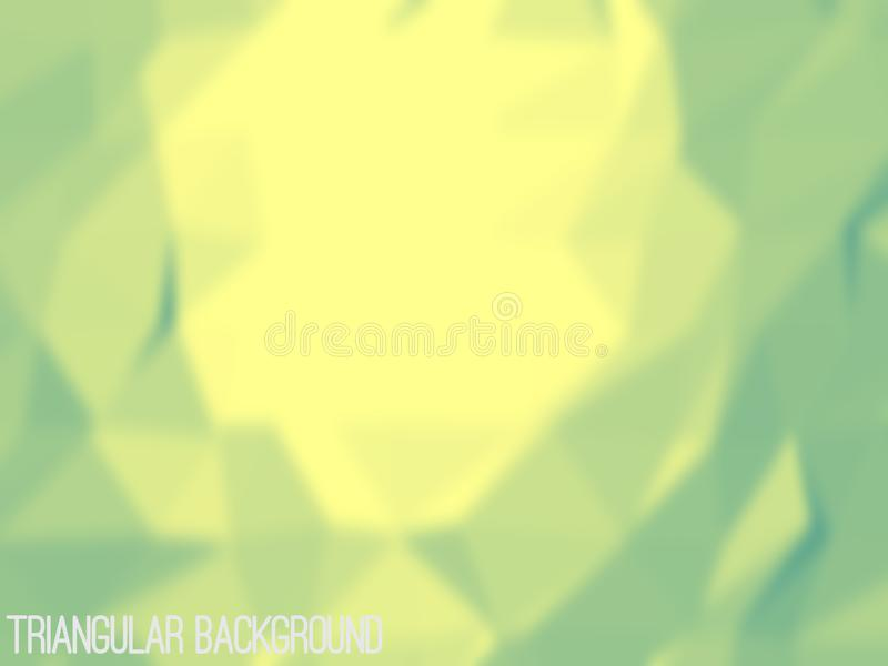 Blurred Triangular Background royalty free illustration