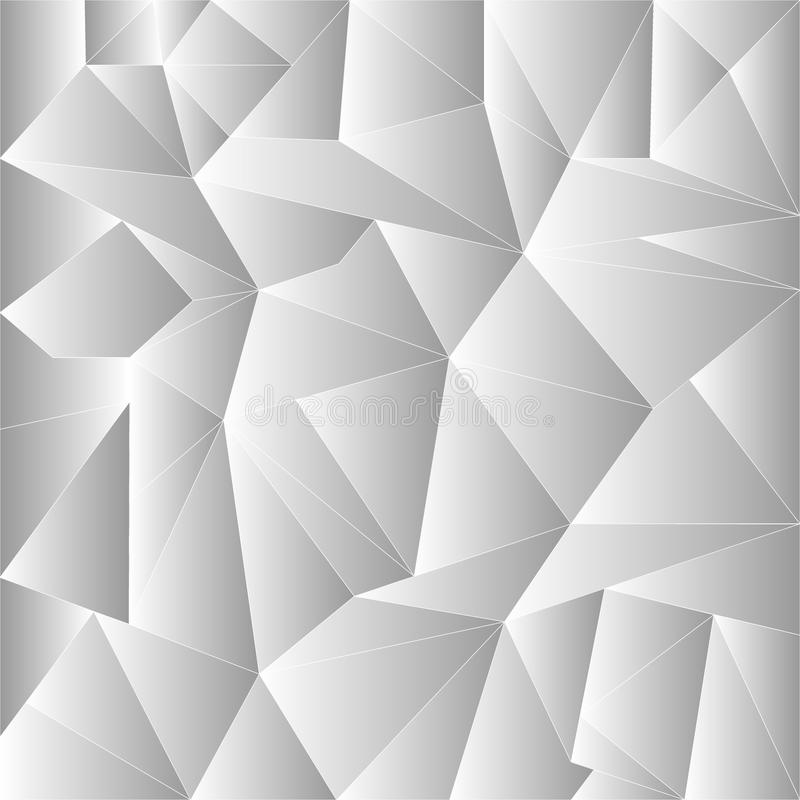 Abstract Grey Wallpaper Polygon Geometric Triangle Background