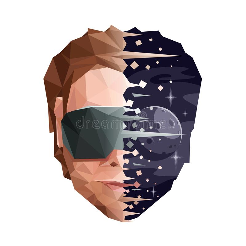 Virtual Reality Concept vector illustration
