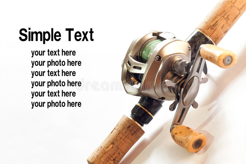 Download Low-proflile casting reel stock photo. Image of angler - 17636254