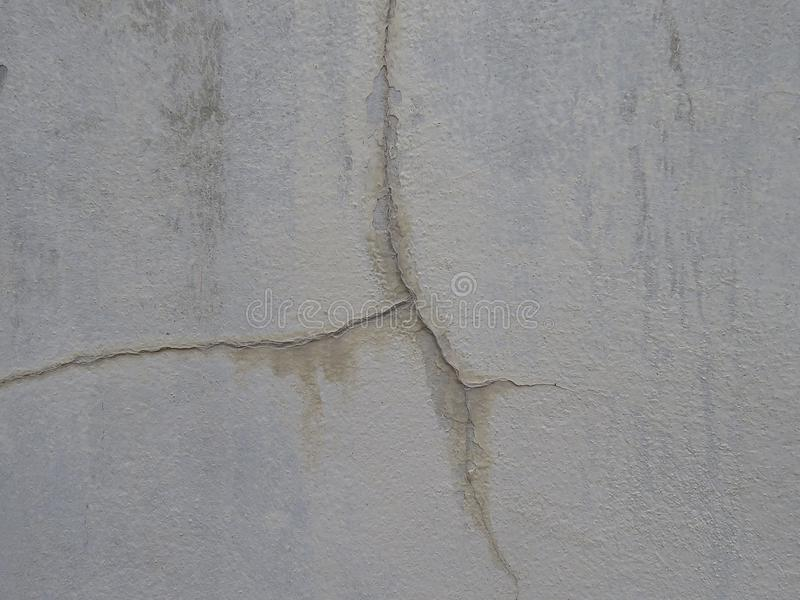 Low-quality cured plaster will easily crack the wall. High quality plastering prevents the wall from cracking easily. - Cause of the quality of the mortar and stock images