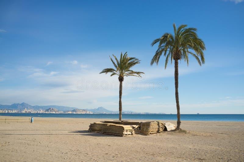 Download Low season stock image. Image of palm, blanca, europe - 29150977