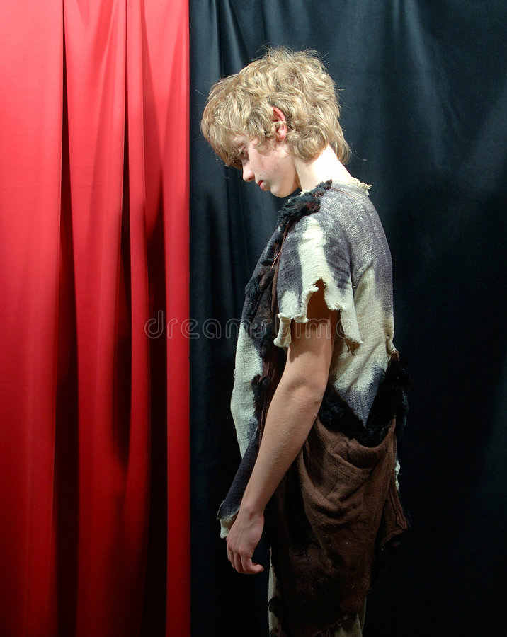 Download Low spirited homeless stock image. Image of costume, historic - 48885