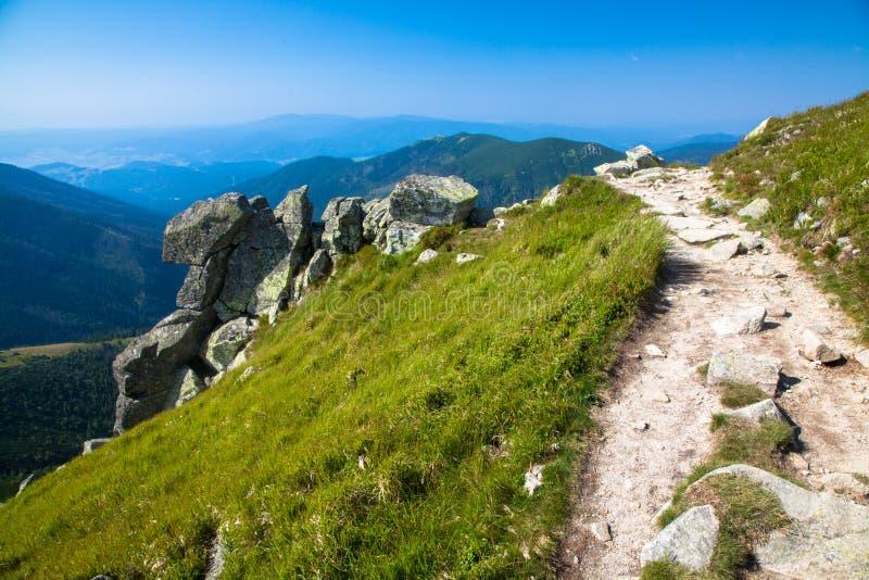 Low Tatras mountains, Slovakia stock image