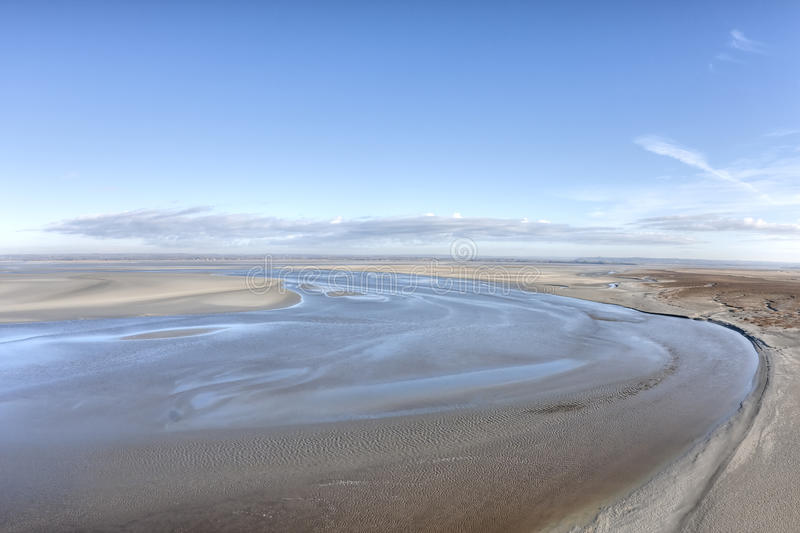 Download Low tide stock image. Image of beach, water, normandy - 12475445