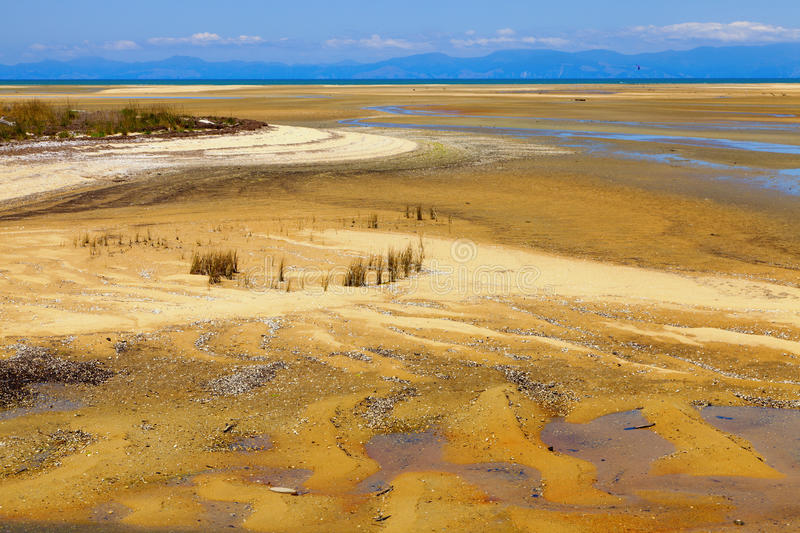 Low Tide Stock Photography