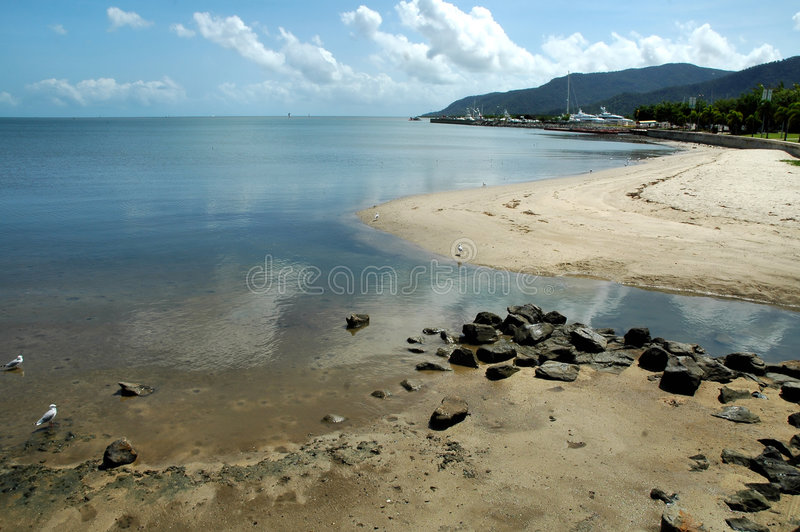 Low Tide Royalty Free Stock Image