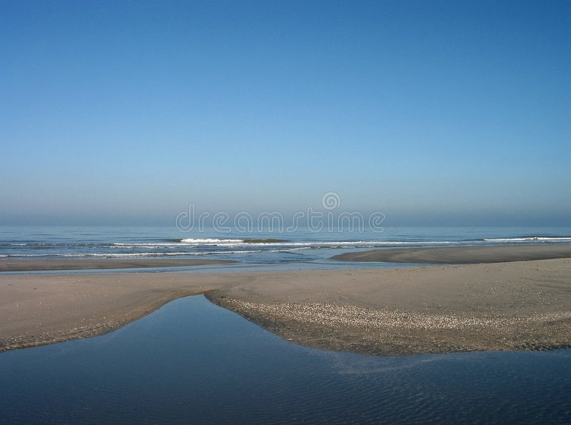 Download Low tide stock image. Image of vacation, seas, early, sand - 76955