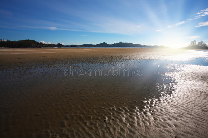 Download Low tide at sunset stock photo. Image of surf, scenic - 14671306