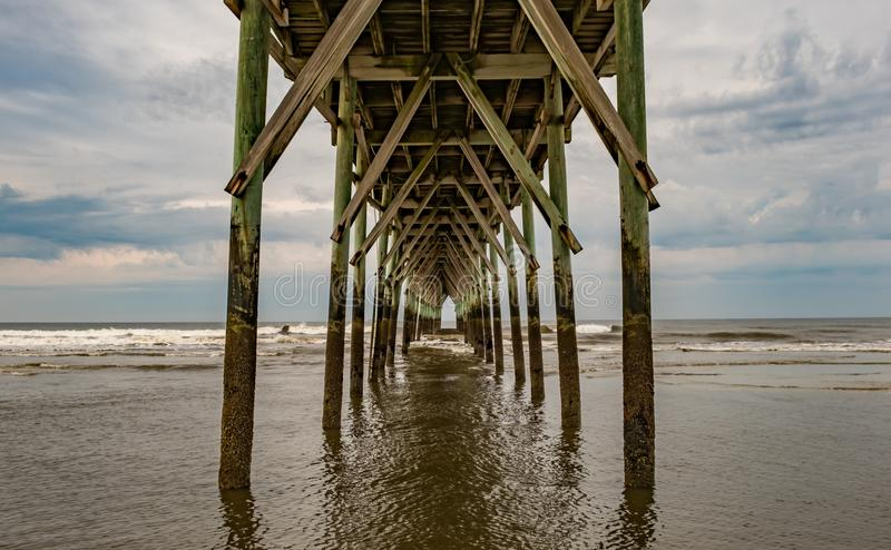 Low Tide stock image