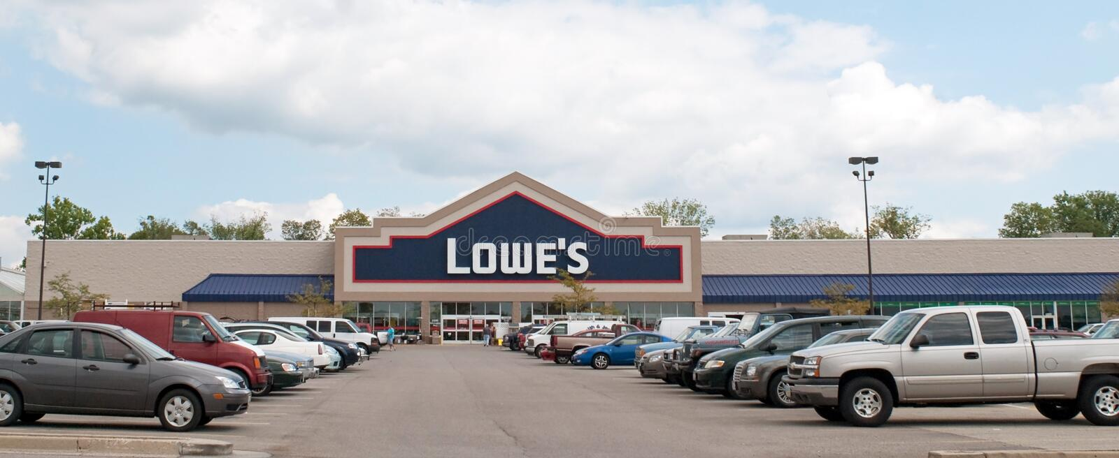 Download Lowe's Home Improvement Center Editorial Photo - Image: 21443101