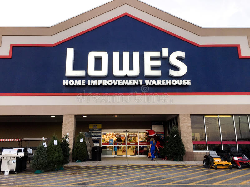 Lowes Store Front Editorial Image Image Of Building