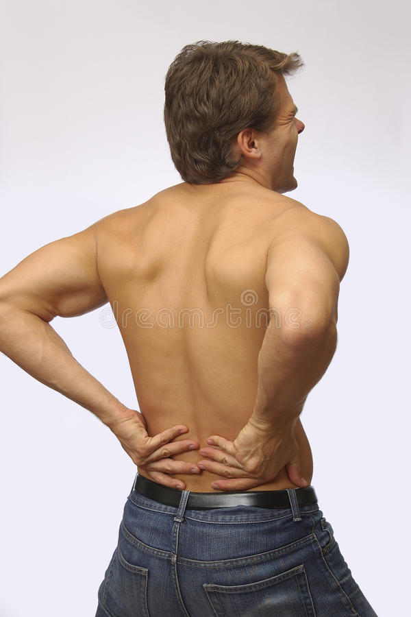 Download Lower back pain stock photo. Image of back, hurt, male - 12345786