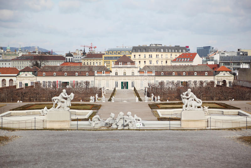Lower Belvedere In Vienna Editorial Stock Image