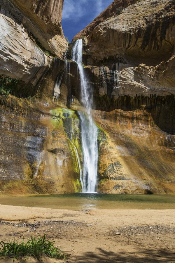 Lower Calf Creek Falls royalty free stock photos