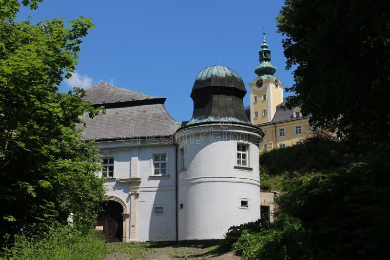 Lower castle in Fulnek. Czech republic royalty free stock image