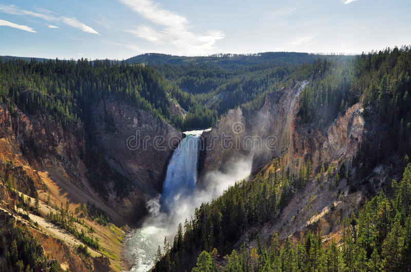 Download Lower Falls stock photo. Image of valley, falls, park - 22510604