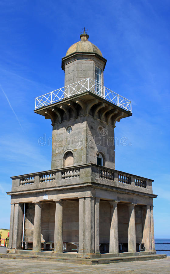 The Lower Lighthouse Fleetwood. royalty free stock photography