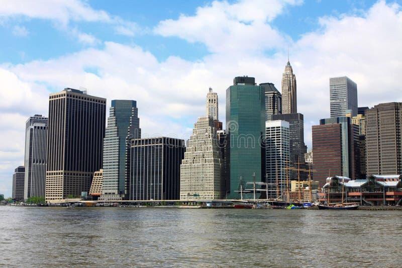 Lower Manhattan royalty-vrije stock foto