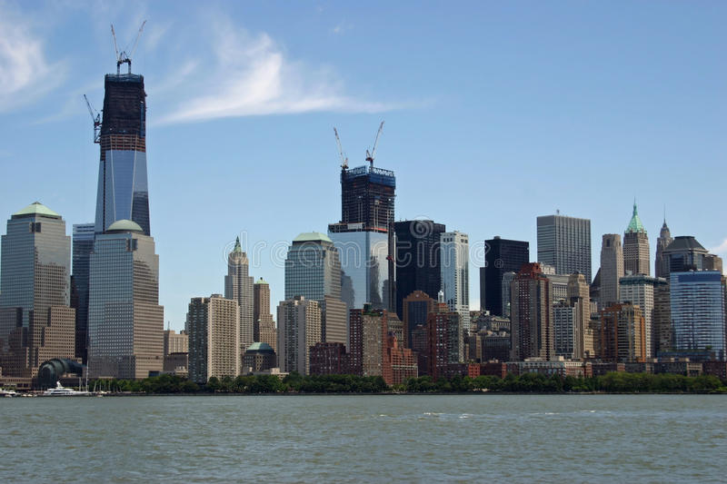 Download Lower Manhattan stock image. Image of manhattan, construction - 26170827