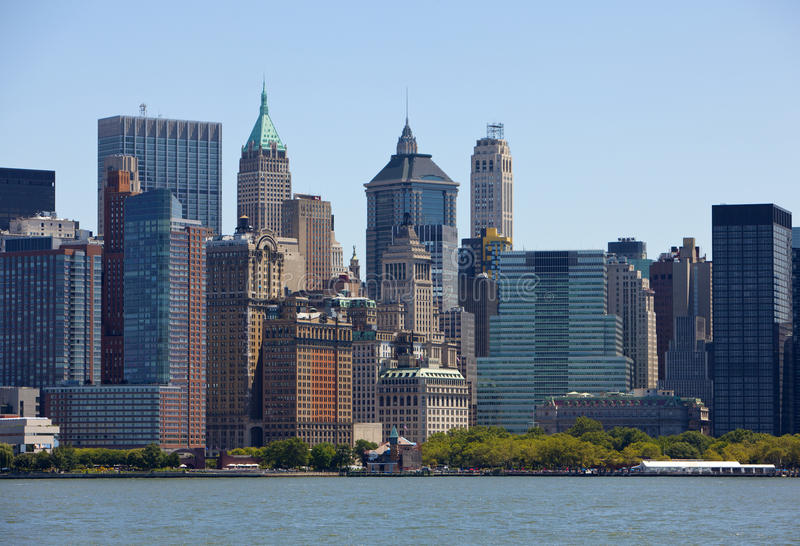 Download Lower Manhattan stock image. Image of cityscape, commercial - 26694805