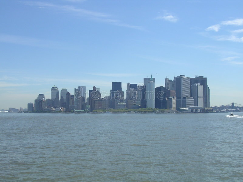 Lower Manhattan. stock foto's