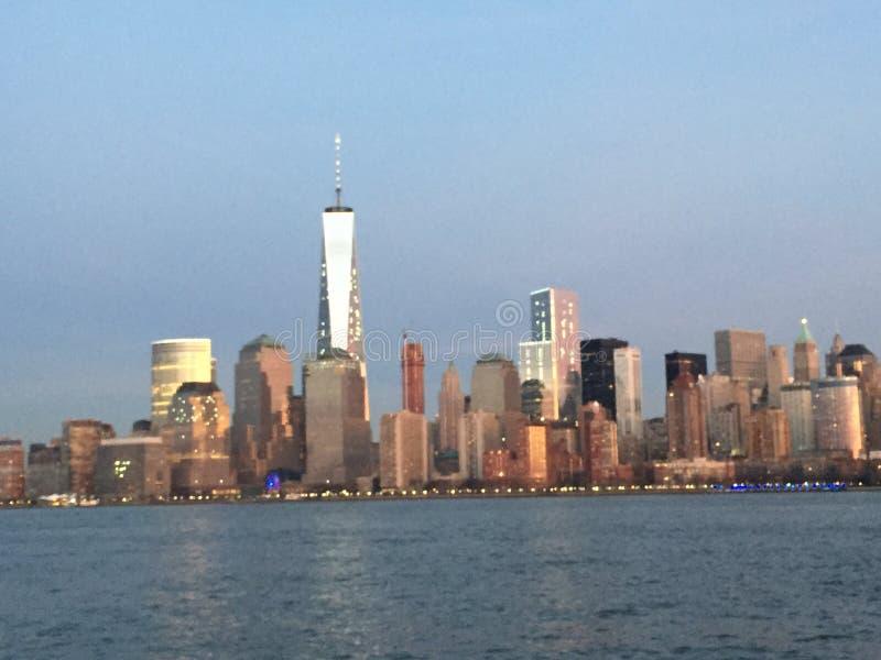 Lower Manhattan royalty-vrije stock afbeelding