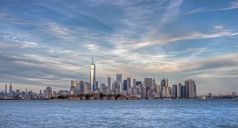 Lower Manhattan fotografia de stock royalty free