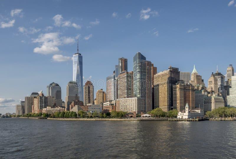 Lower Manhattan foto de archivo libre de regalías