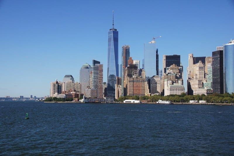 Lower Manhattan foto de archivo