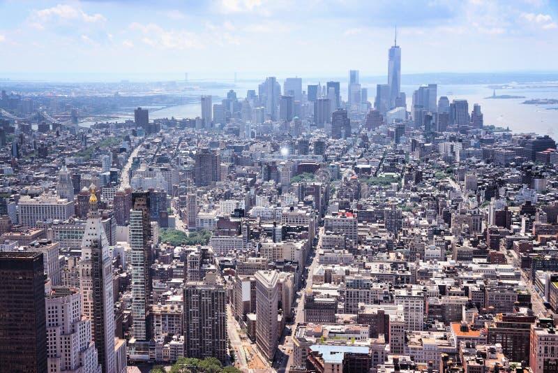 Lower Manhattan imagen de archivo libre de regalías