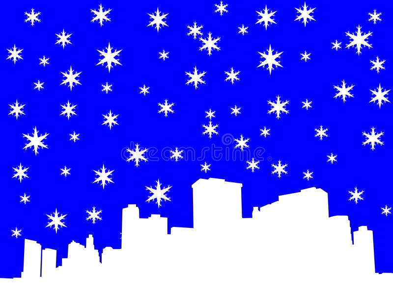Lower Manhattan, de Stad van New York vector illustratie
