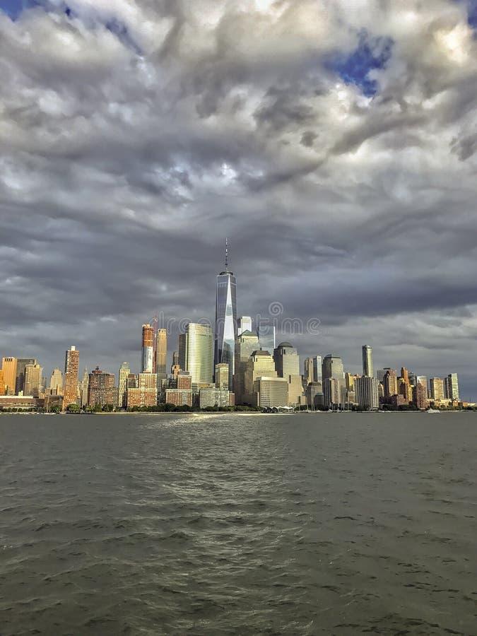 Lower Manhattan em New York City imagem de stock royalty free