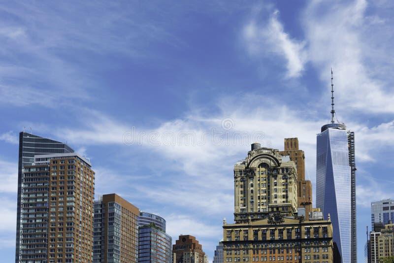 Lower Manhattan, Nueva York imágenes de archivo libres de regalías