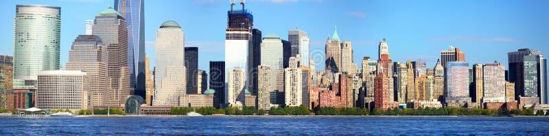 Download Lower Manhattan panorama stock image. Image of downtown - 25358841