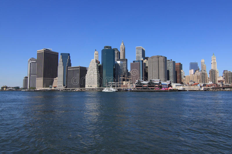 Download Lower Manhattan Skyline Royalty Free Stock Images - Image: 9485559