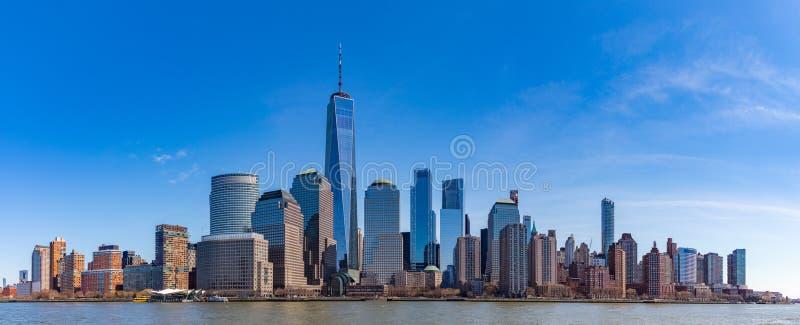 Lower Manhattan VII imagenes de archivo