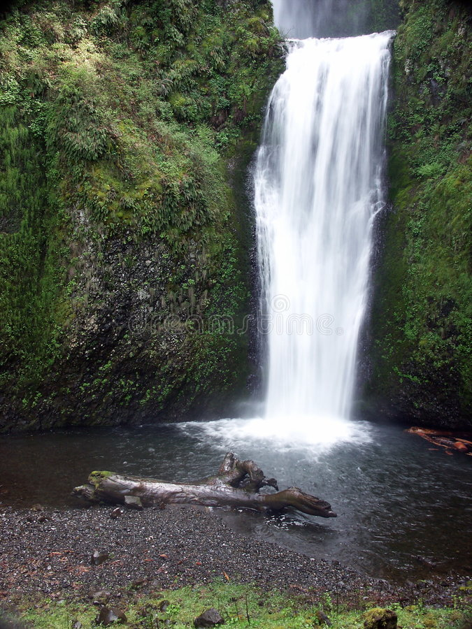 Lower Multnomah Falls stock image