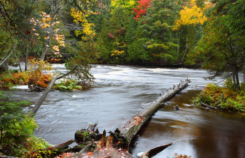 Download Lower Tahquamenon Falls stock photo. Image of michigan - 34626710