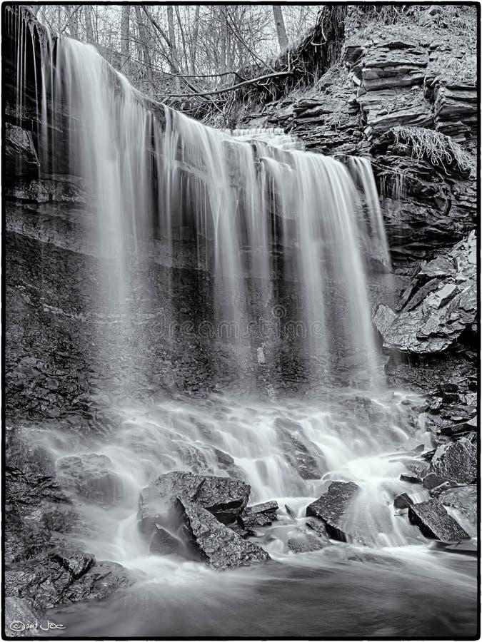 Lower Westcliffe Falls, Hamilton, Ontario stock photography