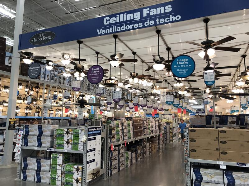 Lowes Home Improvement Store royalty free stock photos