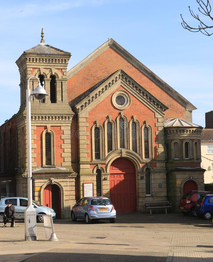 Lowestoft Community Church. A Christian church, a community made up of people from a wide range of ages and backgrounds from in and around the Lowestoft area stock photo