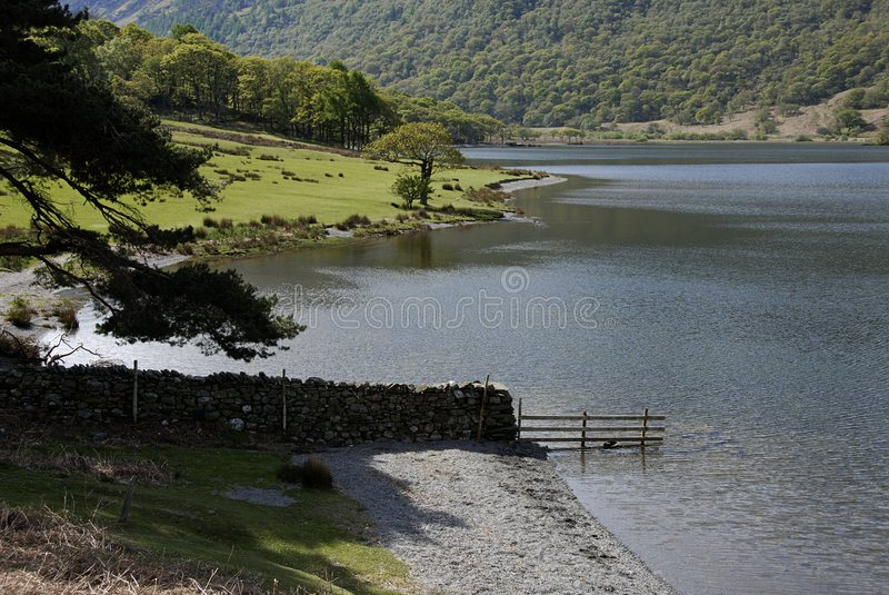 Loweswater stock afbeelding