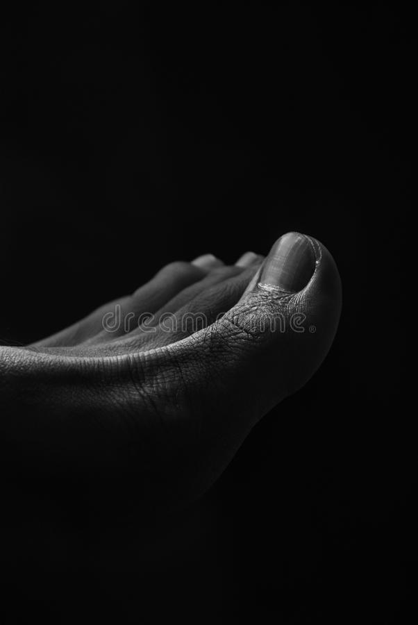 Foot Art stock images