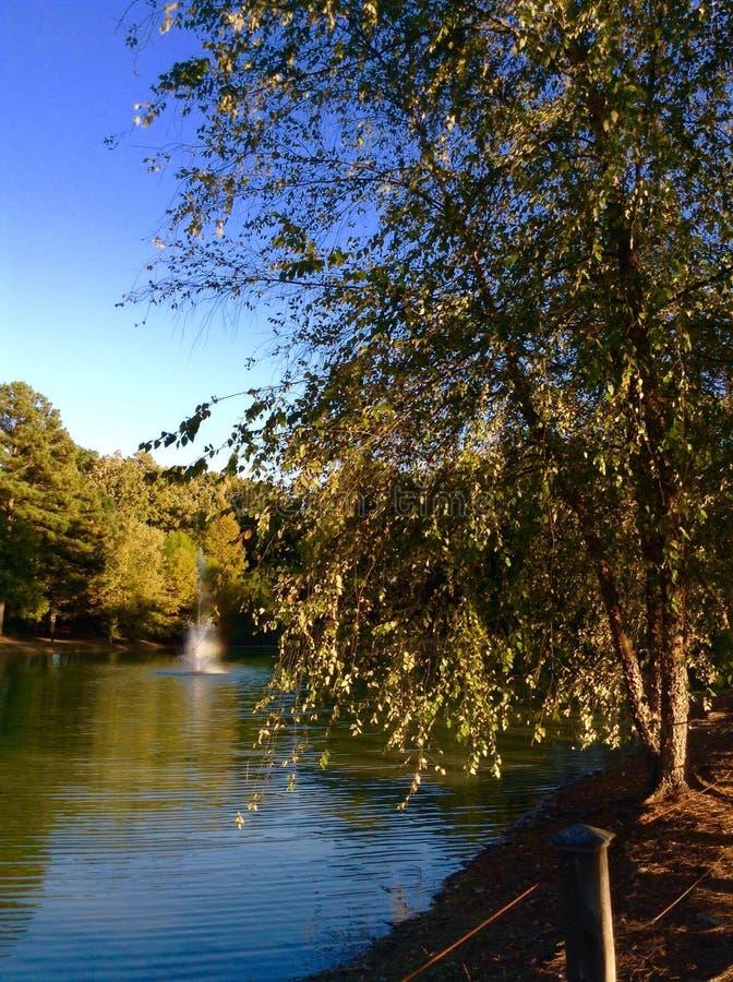Lowman Home Pond lizenzfreies stockfoto