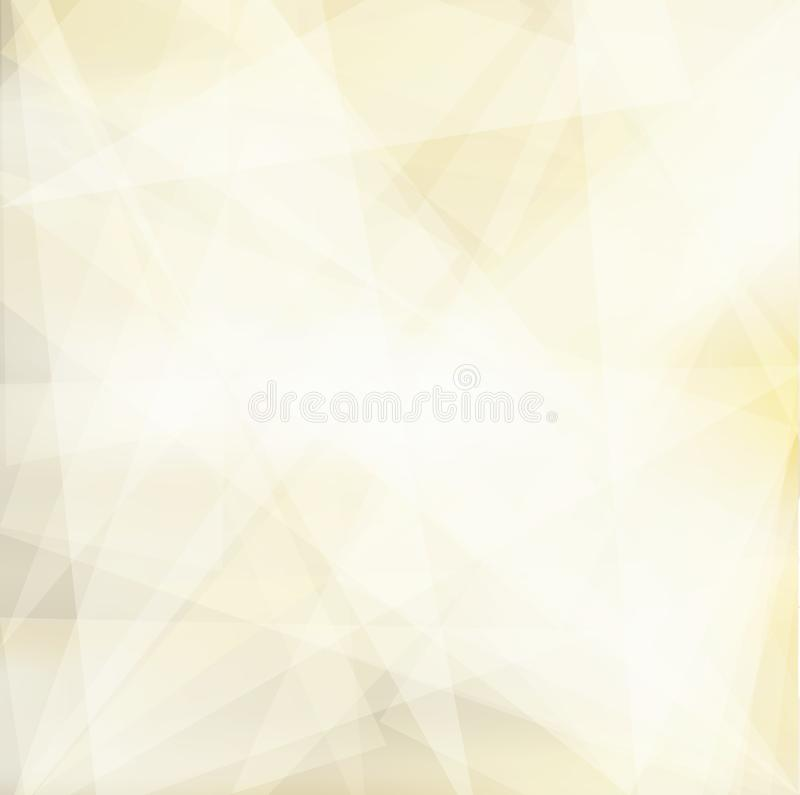 LowPoly Trendy Banner with copyspace. Vector illustration. Used opacity layers royalty free stock photography