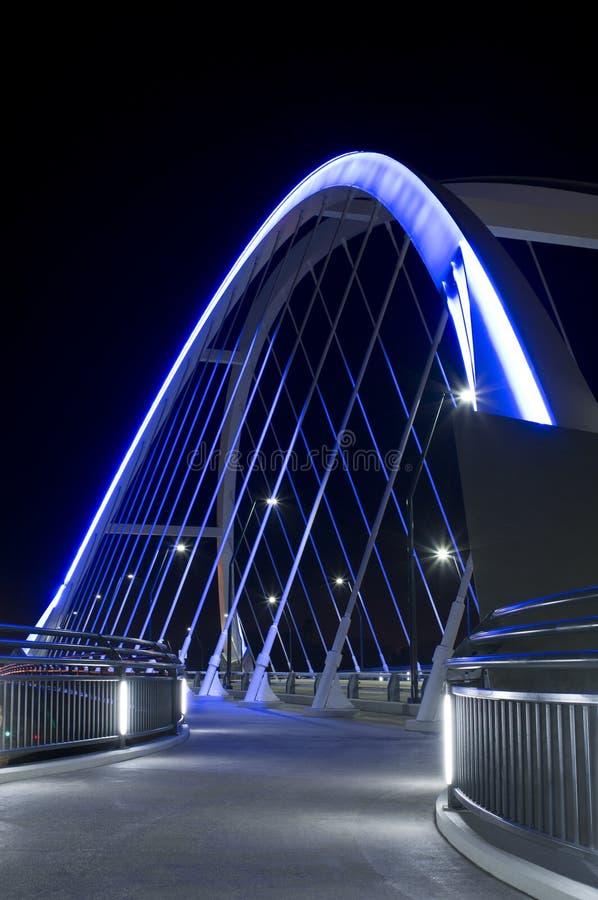 Lowry大道桥梁走道 免版税库存照片