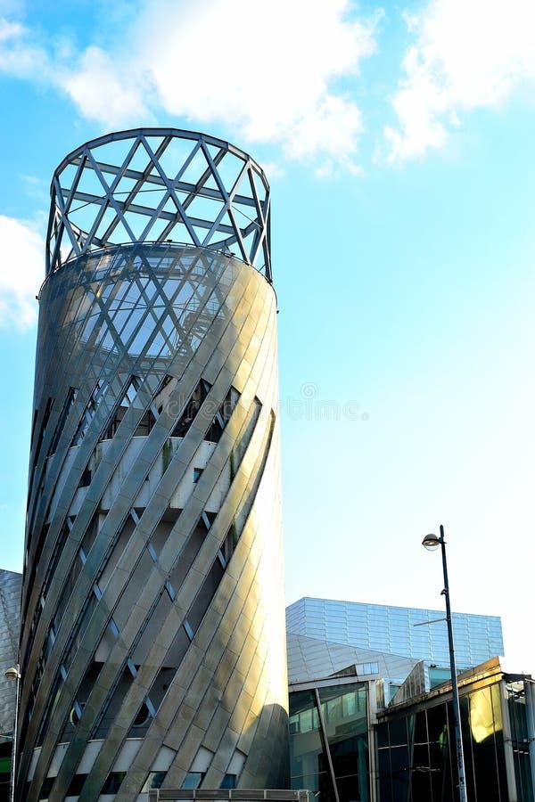 Lowry, Salford-kaden, Manchester, het UK stock afbeeldingen