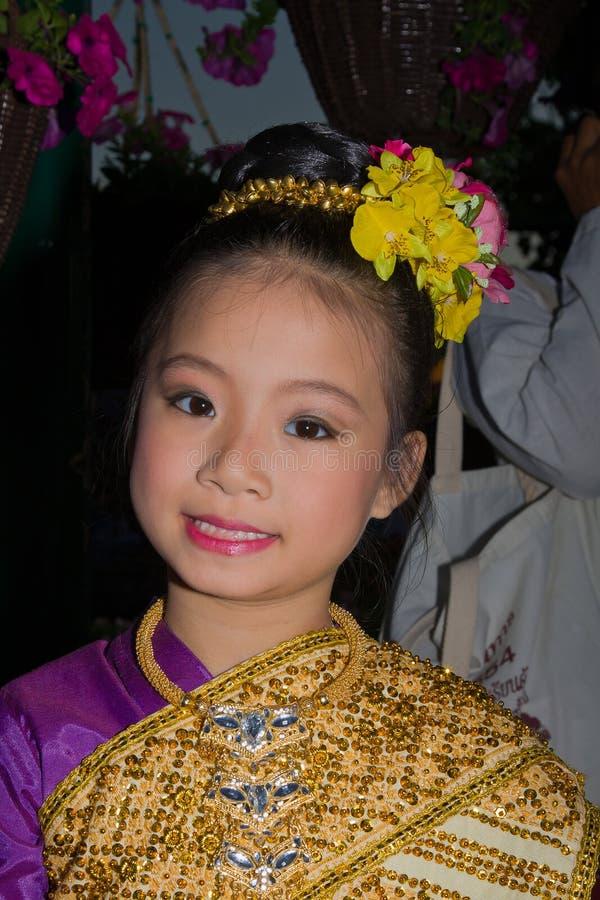Loy Krathong festival stock image