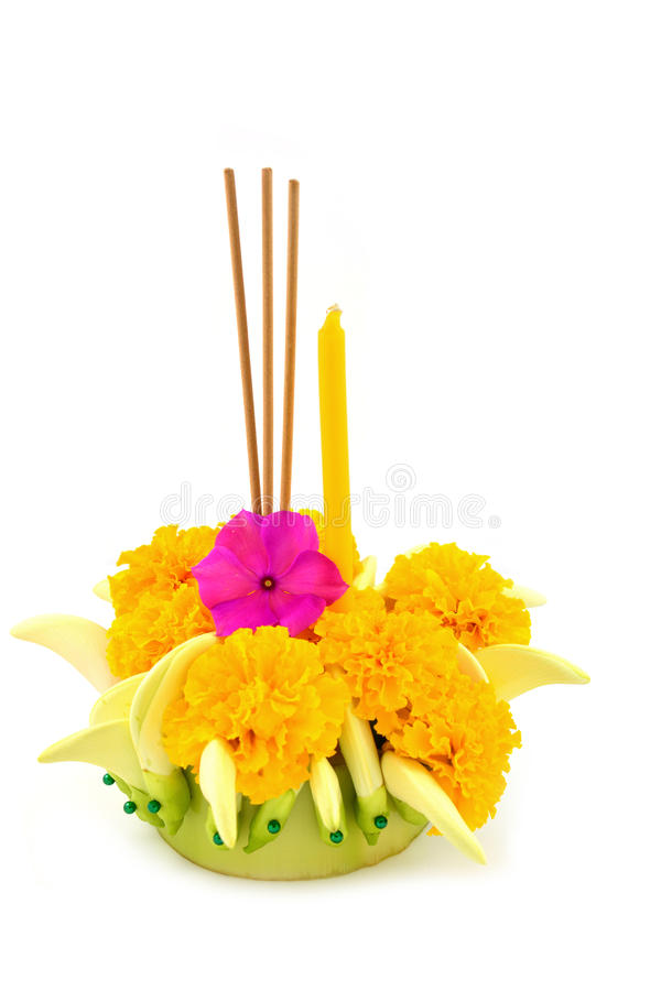 Loy Kratong Festival stock photography